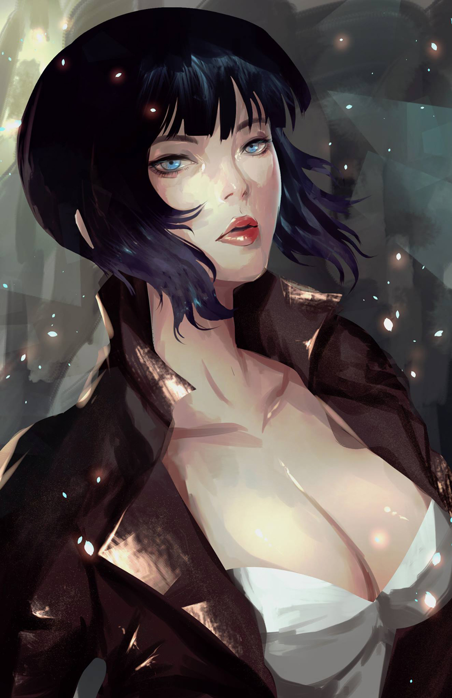 ilustraciones-ghost-in-the-shell